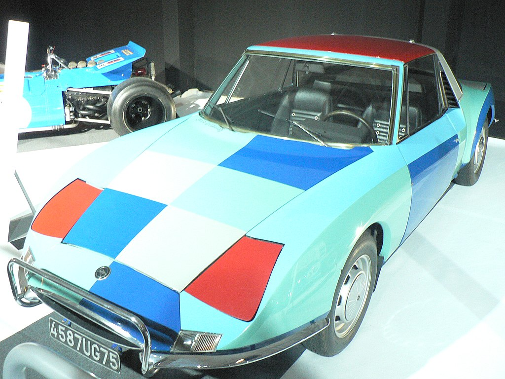 Matra M530 painted by SoniaDelaunay