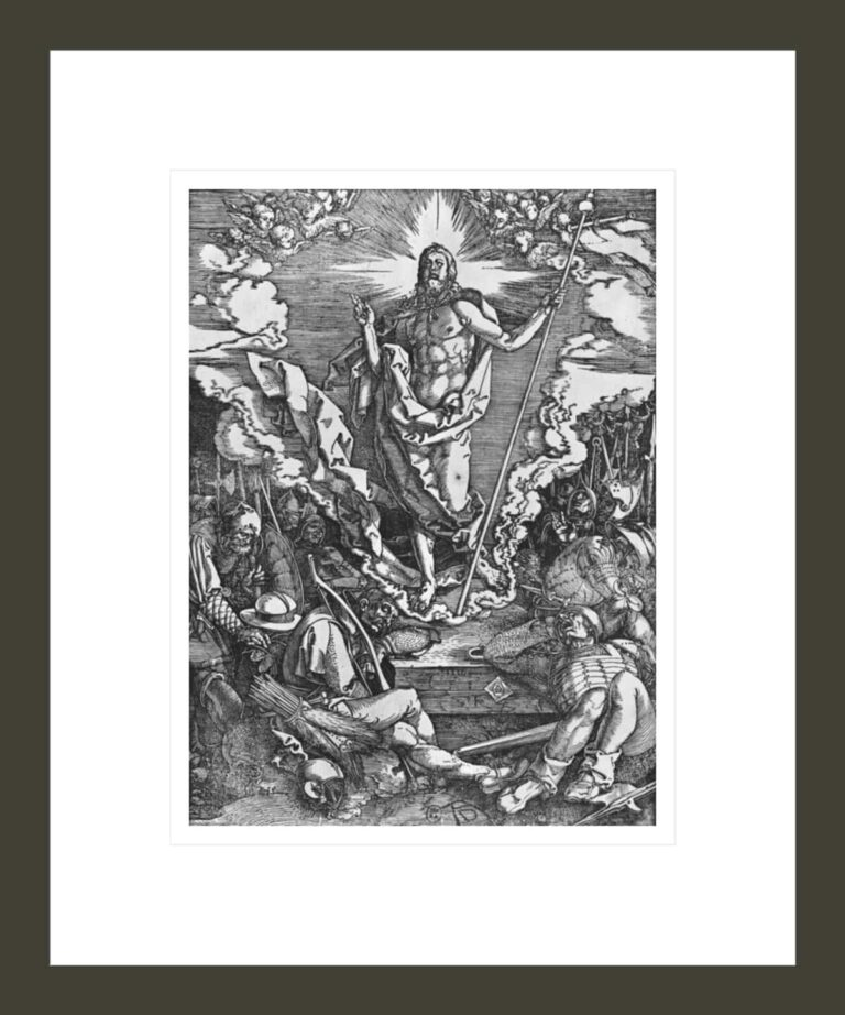 Resurrection, from 'The Great Passion' series
