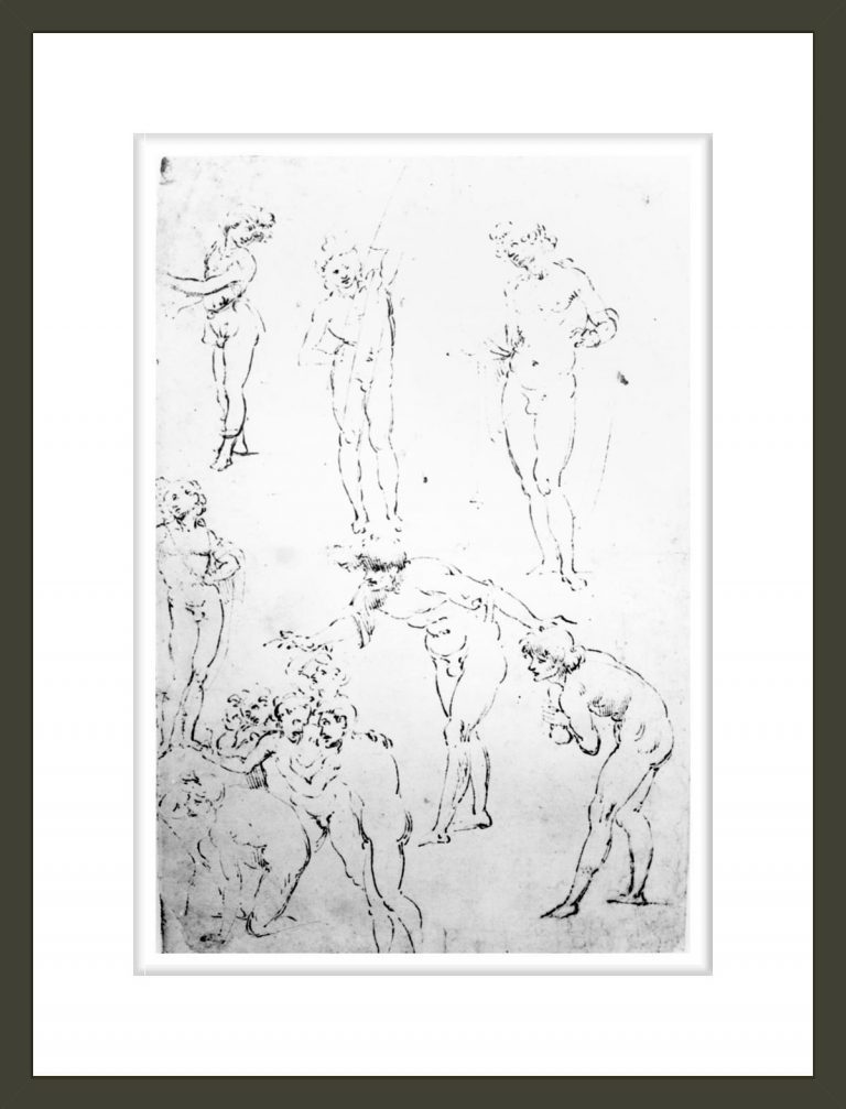 Figural Studies for the Adoration of the Magi