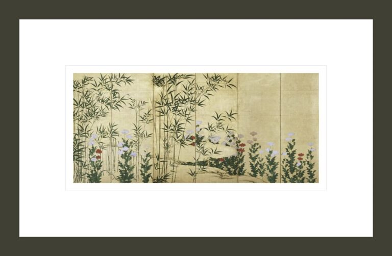 Bamboo and Poppies, early 17th century (1)