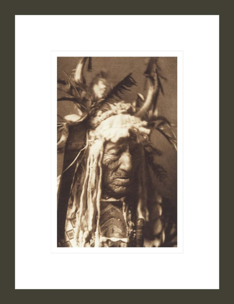 Lean Wolf - Hidatsa (The North American Indian, v. IV. Cambridge, MA: The University Press, 1909)