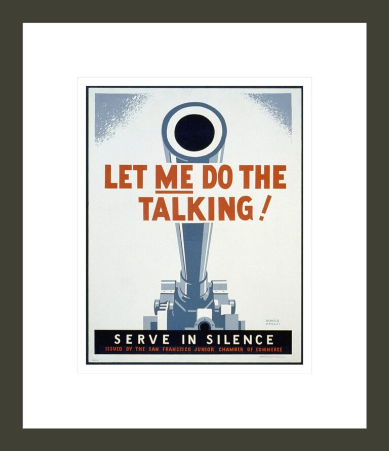 Let Me Do the Talking!