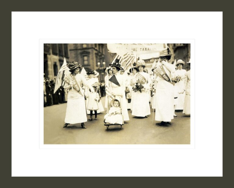 Suffrage Parade, New York City, May 4, 1912