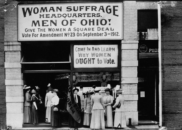 Woman Suffrage HQ Cleveland