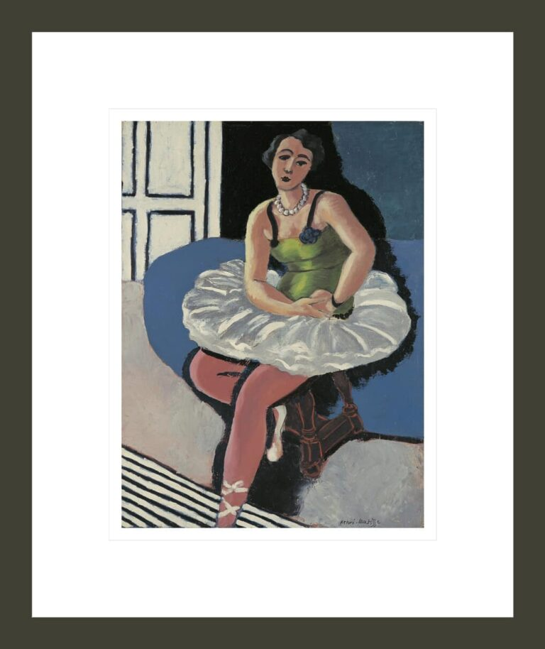 Ballet Dancer Seated on a Stool