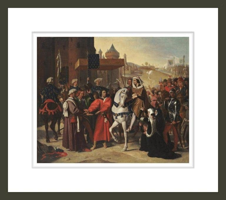 The Entry into Paris of the Dauphin, later Charles V