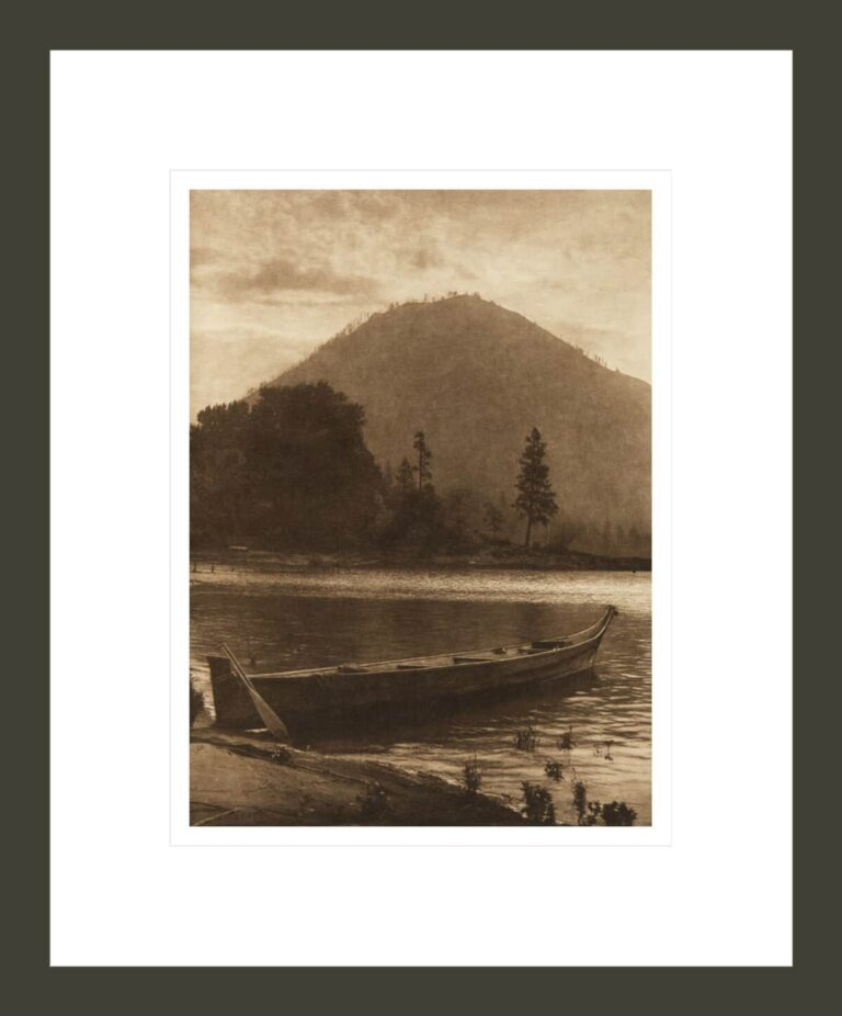 Wind Mountain [Cascade] (The North American Indian, v. VIII. Norwood, MA: The Plimpton Press, 1911)