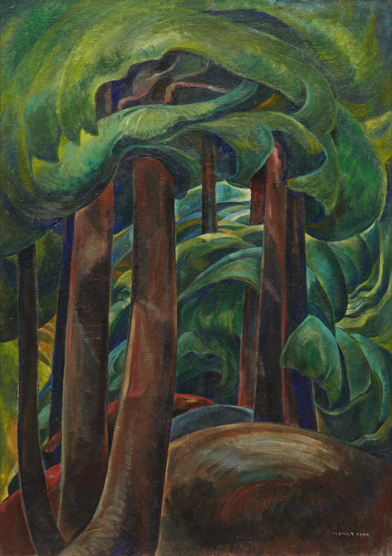 1931 Emily Carr Western Forest