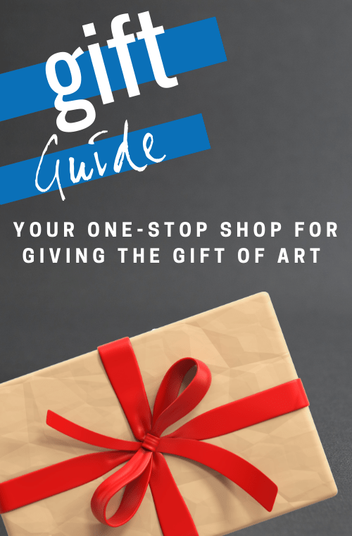 1000Museums Fine Art Gift Guide Mobile Banner