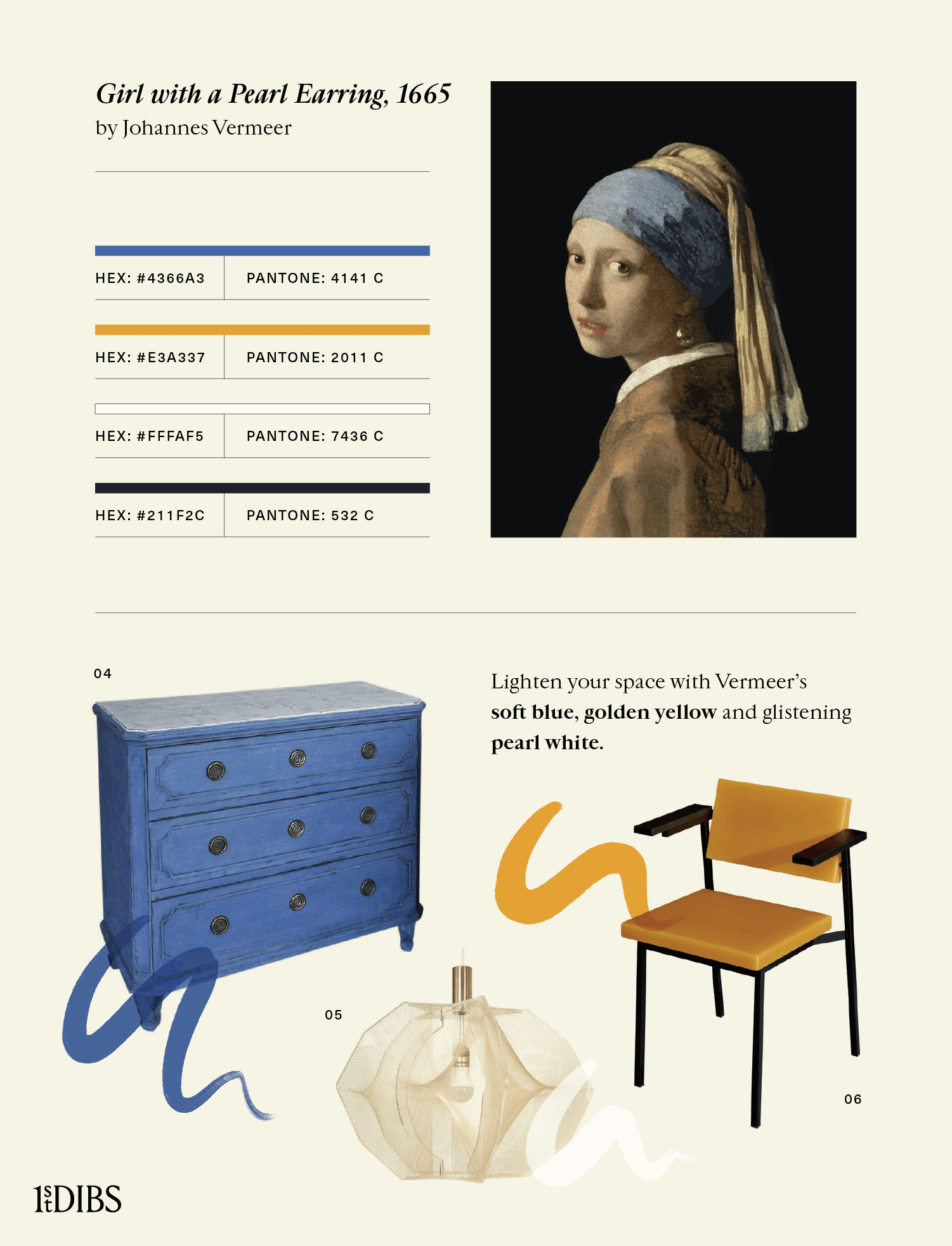 Johannes Vermeer's Girl with a Pearl Earring