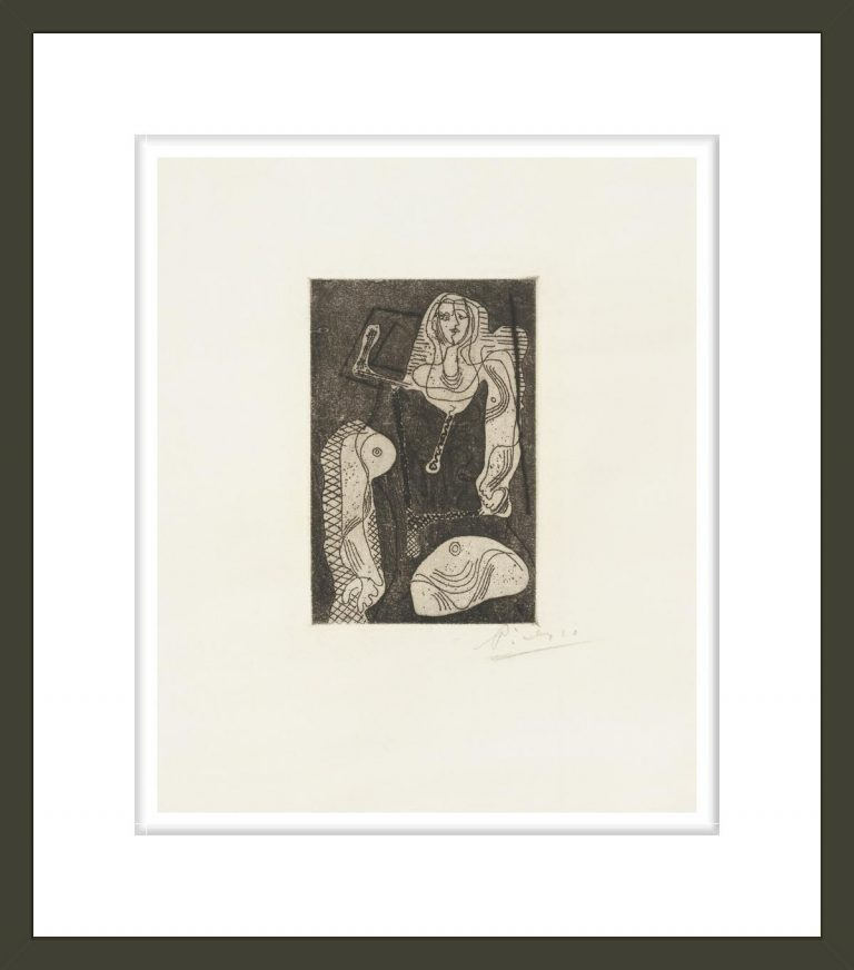 Femme, from Picasso Oeuvres
