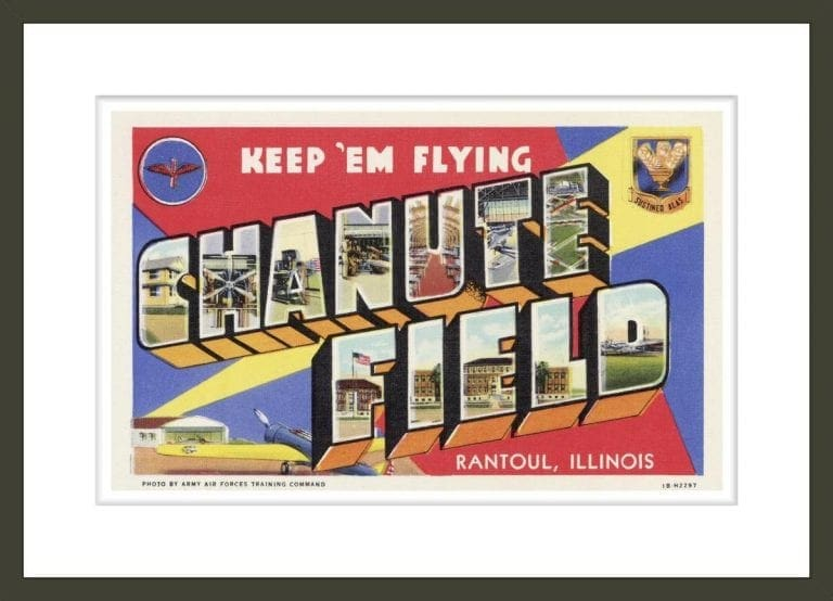 Greeting Card from Chanute Field