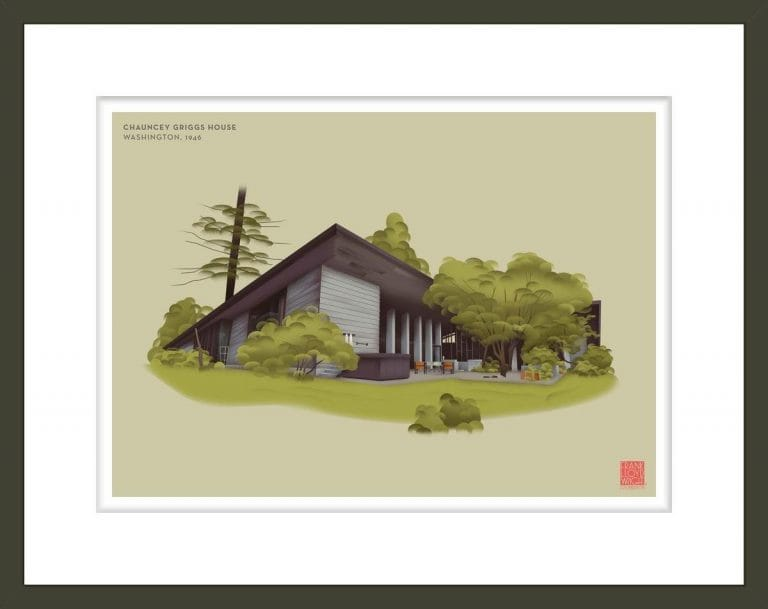Chauncey Griggs House Illustration