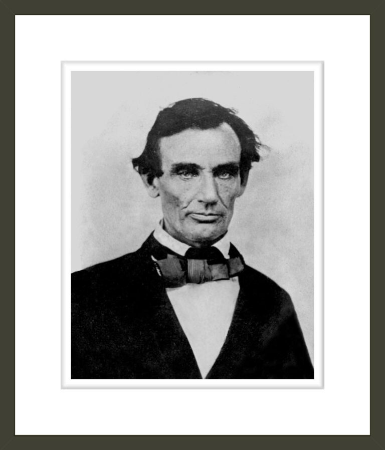 Abraham Lincoln, two weeks before the final Lincoln-Douglas debate