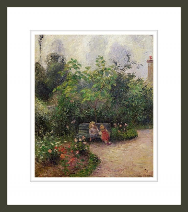 A Corner of the Garden at the Hermitage, Pontoise