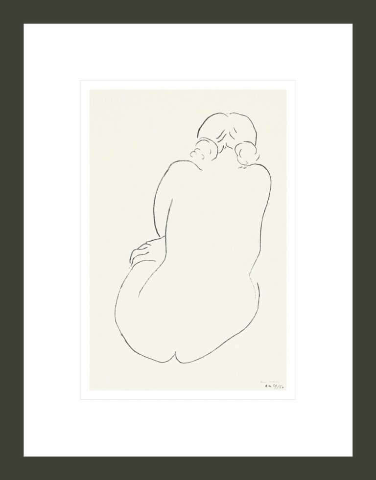 Seated Nude, Viewed from Behind (Nu assis, vu de dos)