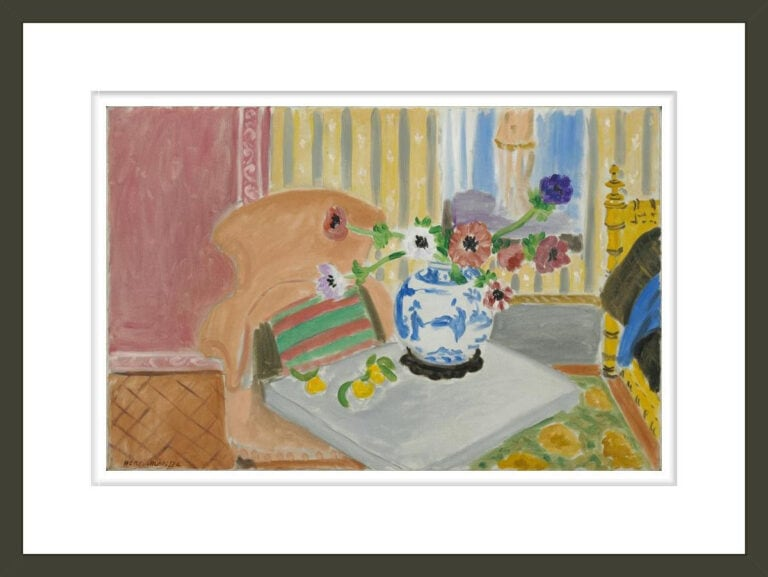 Anemones and Chinese Vase,