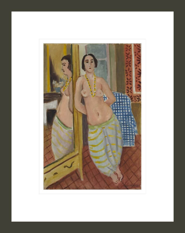 Standing Odalisque Reflected in a Mirror, 1923