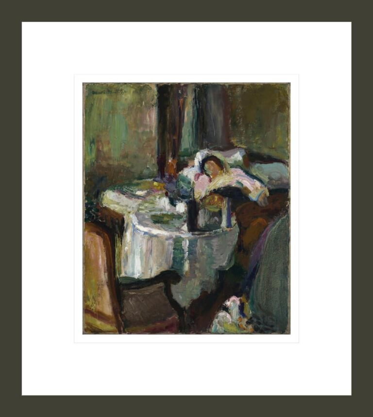 The Convalescent Woman (The Sick Woman)