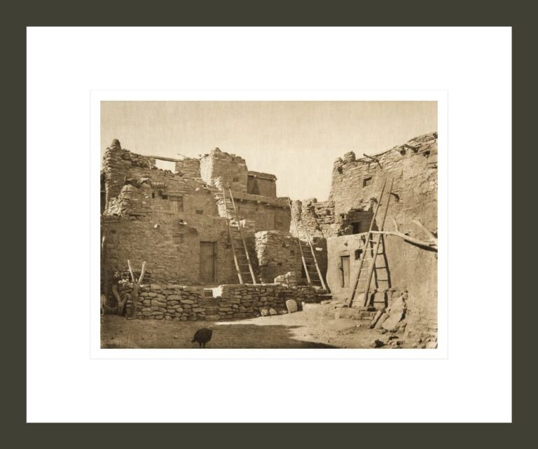 Hopi architecture (The North American Indian, v. XII. Norwood, MA, The Plimpton Press)