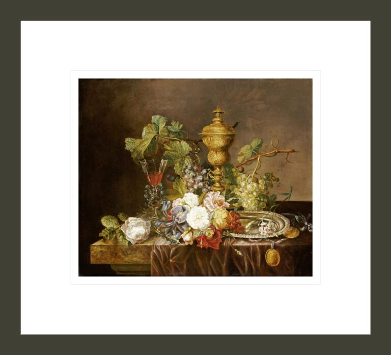 A Still Life With Roses