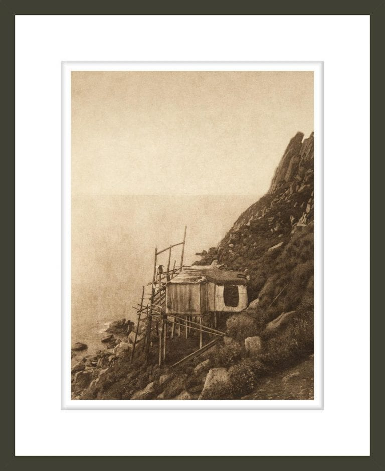 On the Cliff Edge - King Island (The North American Indian, v. XX. Norwood, MA, The Plimpton Press)