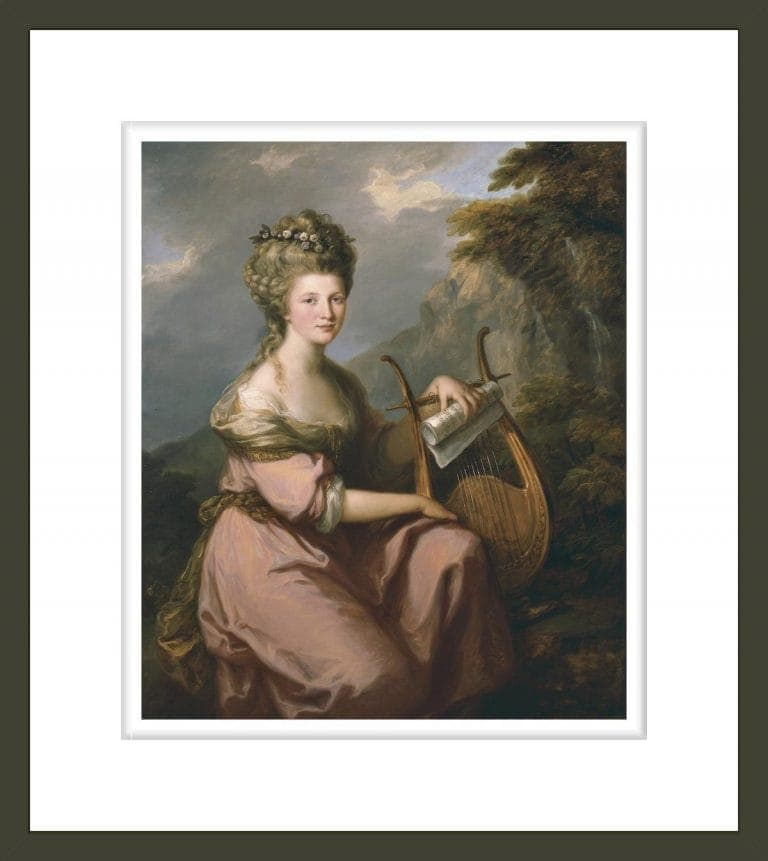 Portrait of Sarah Harrop (Mrs. Bates) as a Muse