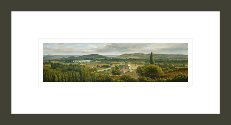 Panoramic View of the Ile-de-France