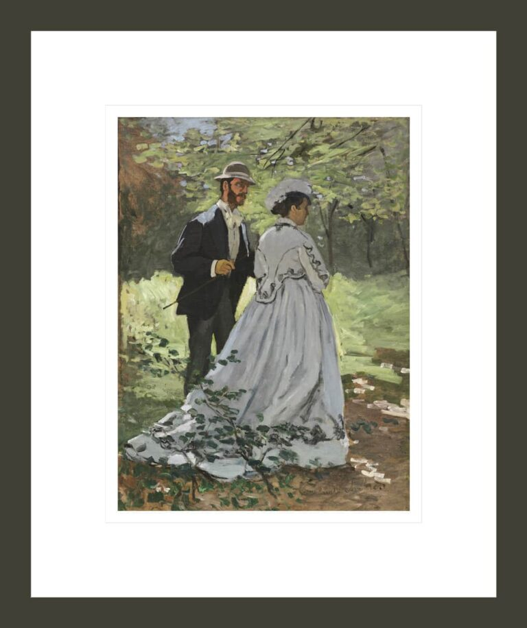 Bazille and Camille (Study for