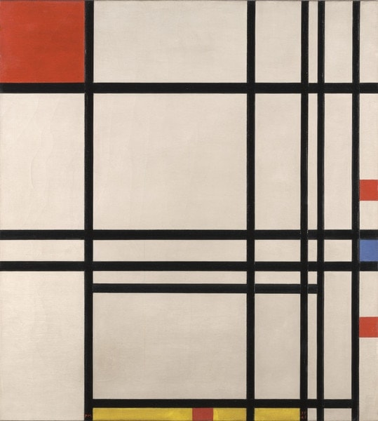 Piet Mondrian, Abstraction