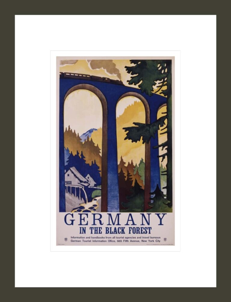 Germany in the Black Forest Poster