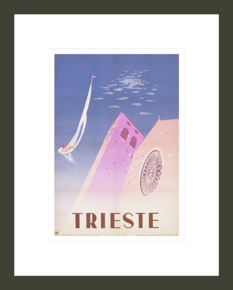 Trieste Travel Poster