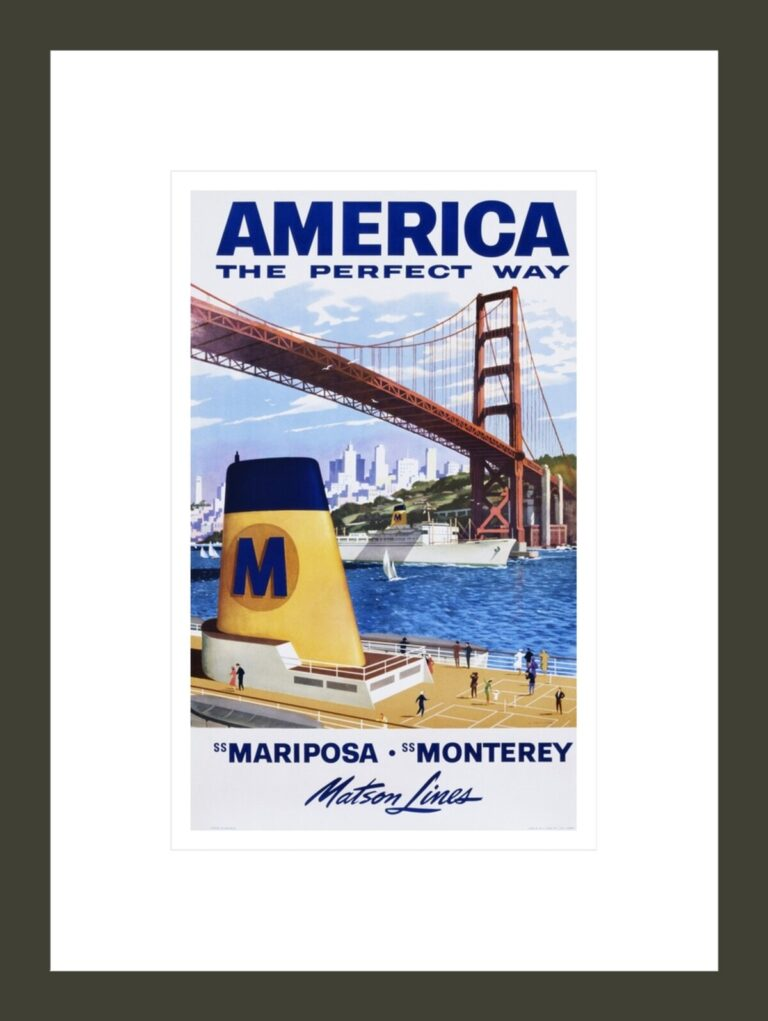 America: The Perfect Way Travel Poster