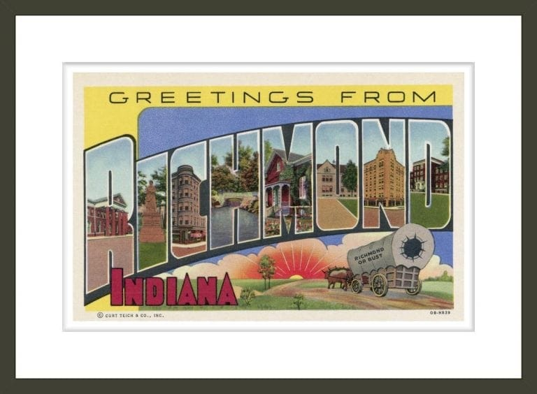 Greeting Card from Richmond, Indiana