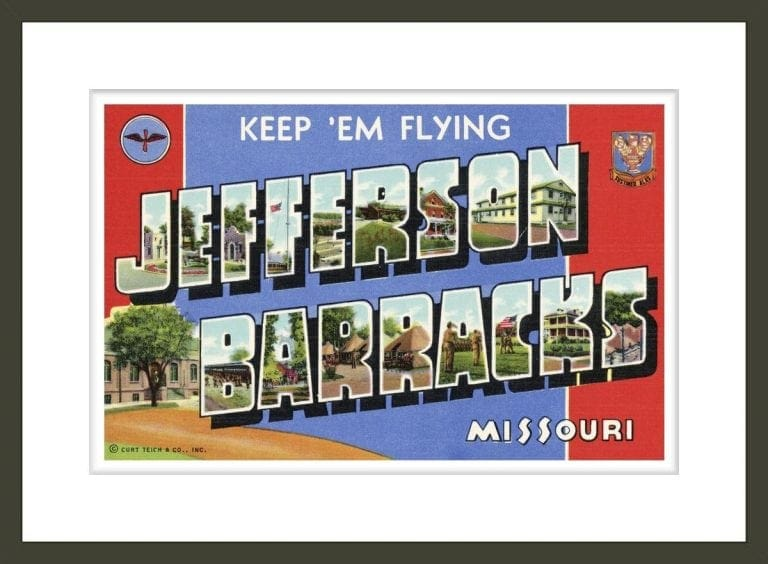 Greeting Card from Jefferson Barracks