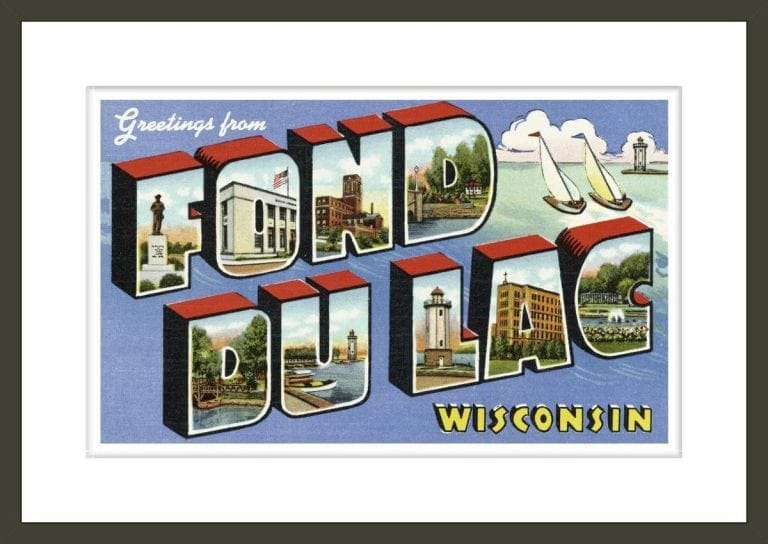 Greeting Card from Fond du Lac, Wisconsin