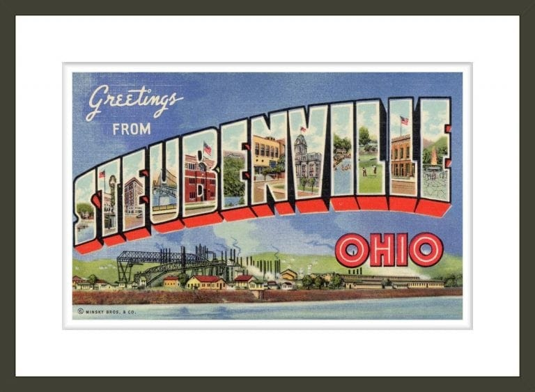 Greeting Card from Steubenville, Ohio