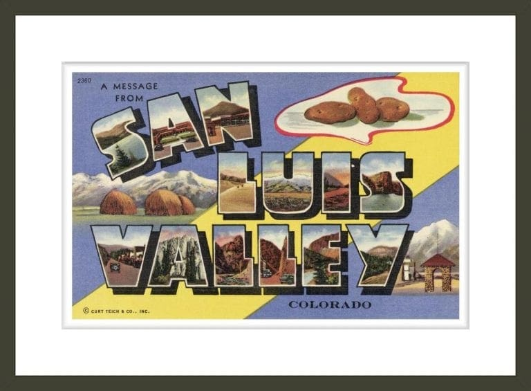 Greeting Card from San Luis Valley