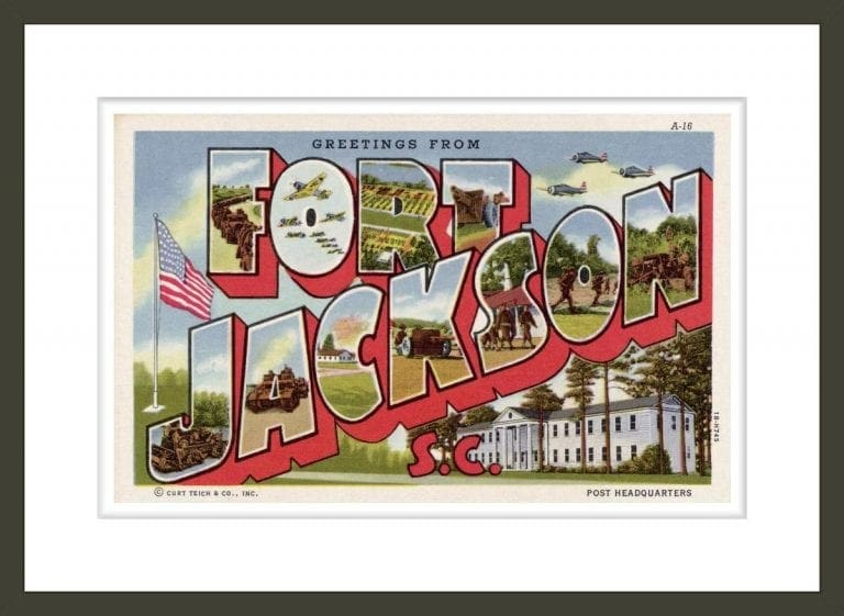 Greeting Card from Fort Jackson