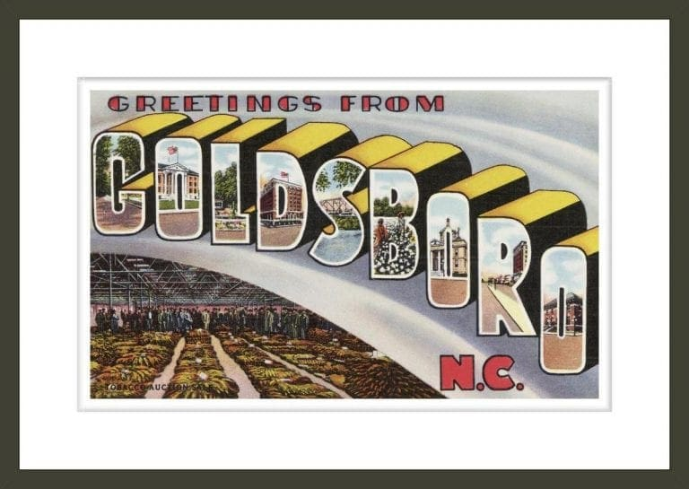Greeting Card from Goldsboro, North Carolina
