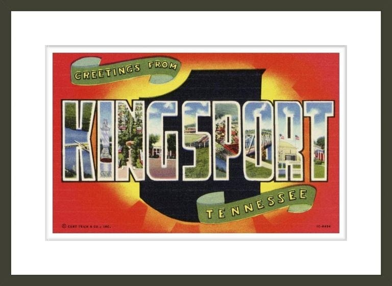 Greeting Card from Kingsport, Tennessee