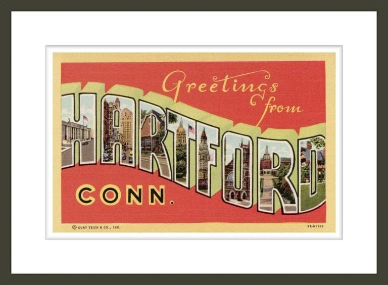 Greeting Card from Hartford, Connecticut