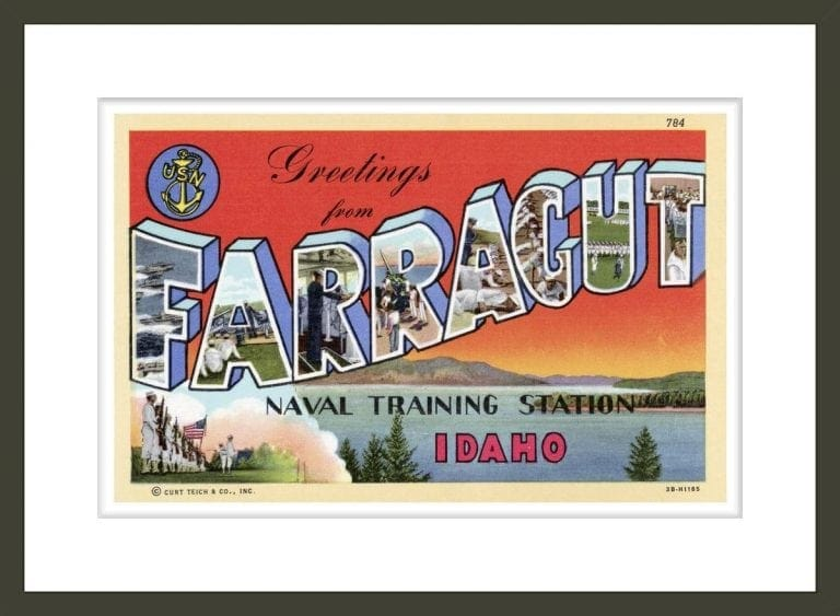 Greeting Card from Farragut Naval Training Station
