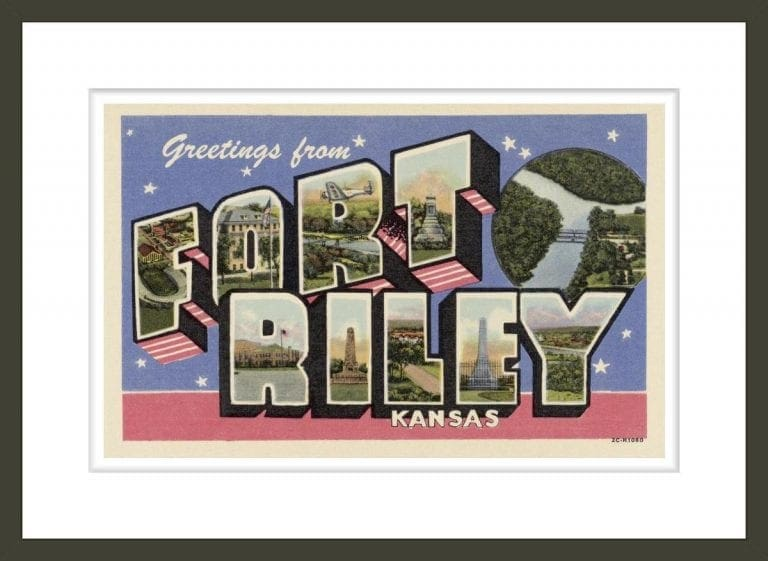 Greeting Card from Fort Riley