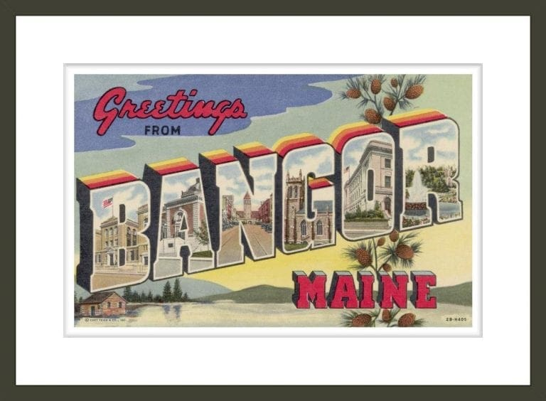 Greeting Card from Bangor, Maine