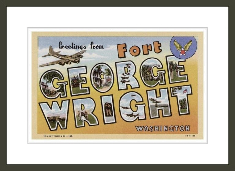 Greeting Card from Fort George Wright