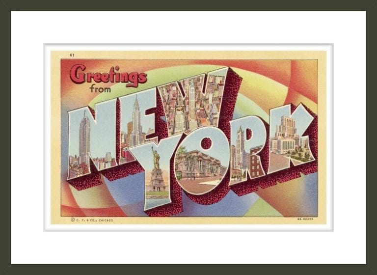 Greeting Card from New York
