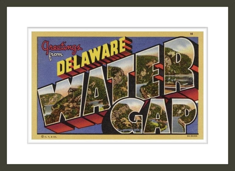 Greeting Card from Delaware Water Gap