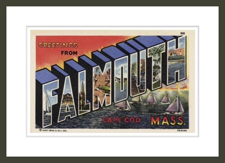 Greeting Card from Falmouth, Massachusetts