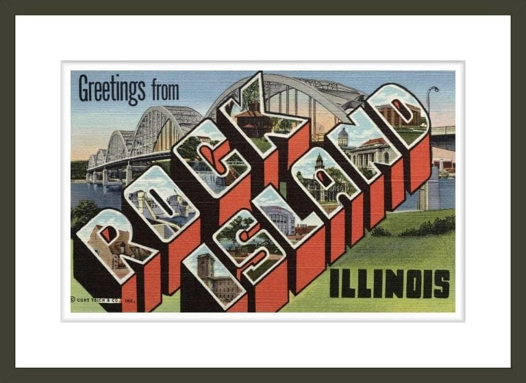 Greeting Card from Rock Island, Illinois